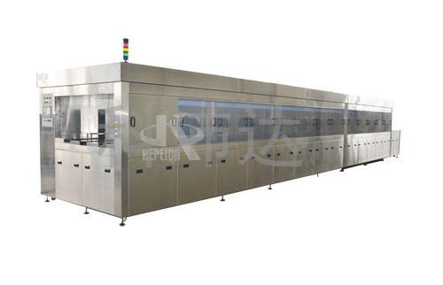 KPDW-QC5000双通道周转筐喷淋洗净干燥机