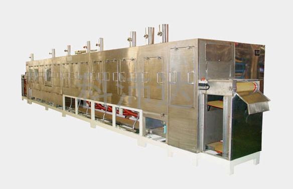十二槽全自动玻璃超声清洗干燥机