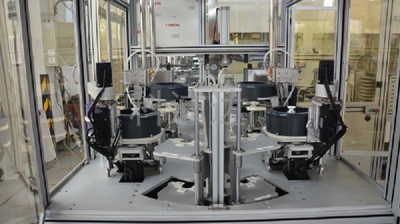 KPD-1X2T陶瓷盘清洗贴片一体机